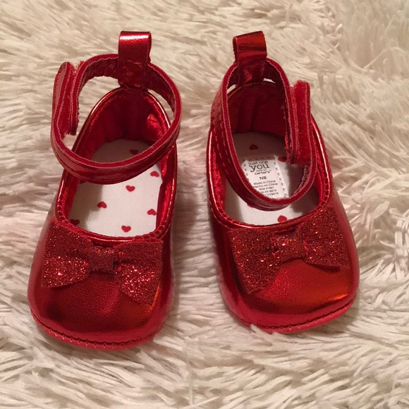 Handcrafted Mary Jane shoes size 0 reborn doll clothes nb